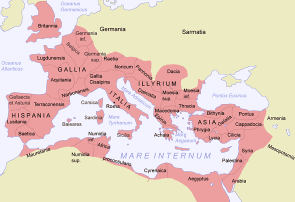 Mapping the Roman Empire - South High World Studies