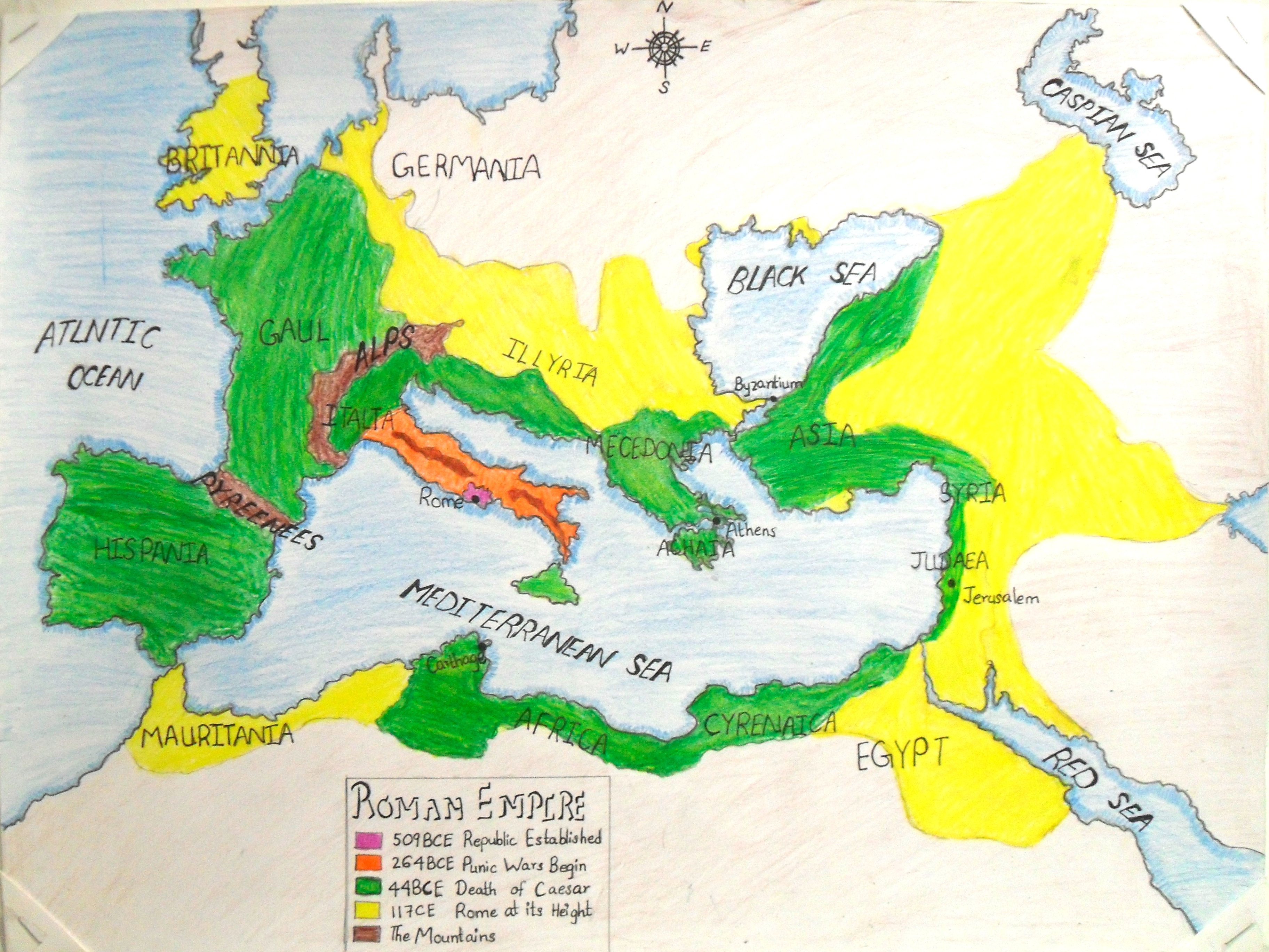 Roman Empire Expansion Maps 2012 2013 on Us History Nationalism