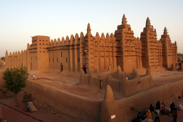 Timbuktu from side