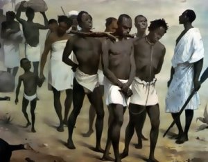 Africans Being Taken in to Bondage