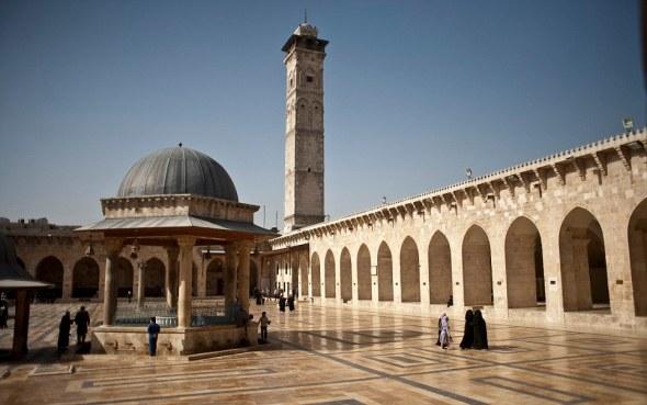Syria - Travel - Umayyad Mosque of Aleppo