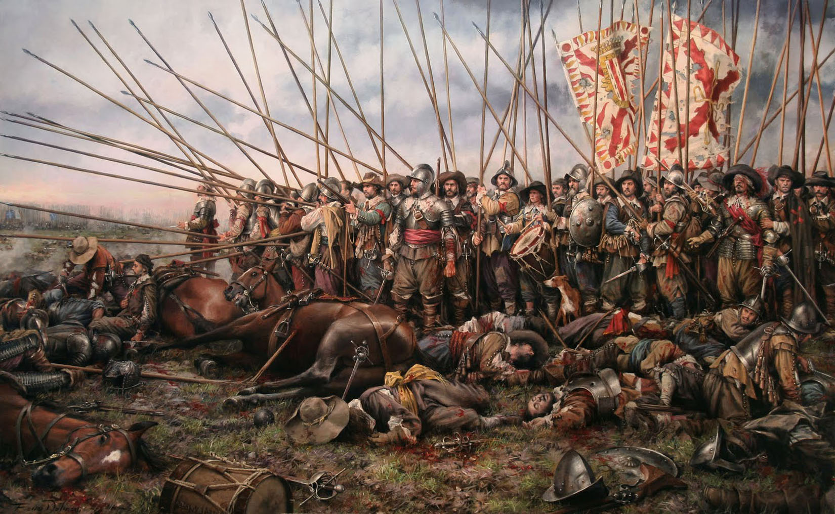 lesson the thirty years war mrcaseyhistory batalla de rocroi por o ferrer dalmau