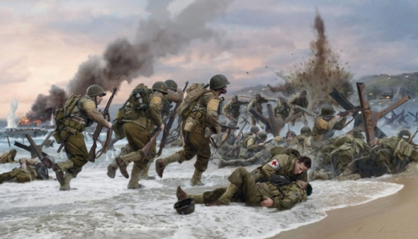assault-on-omaha-beach-by-simon-smith-2